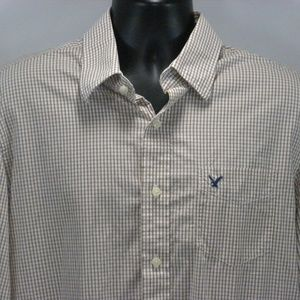 American Eagle XL Vintage Fit Checkered Shirt